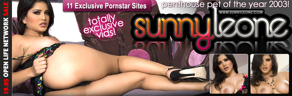 Get Sunny Leone and 10 more pornstars official sites for $9.95 with an Open Life Discount!